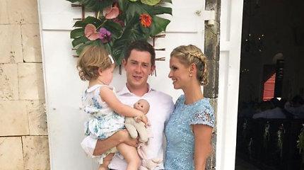 Paris Hilton jaunėlio brolio Barrono vestuvės Šv. Bartolomėjaus saloje