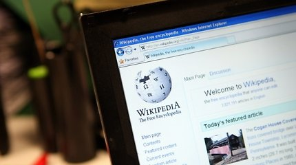 """Rusija planuoja 2022 metais paleisti """"Wikipedia"""" atitikmenį"""
