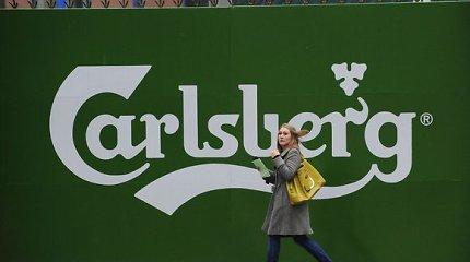 """""""Carlsberg"""" atsisako plastikinių alaus skardinių pakuočių žiedų"""