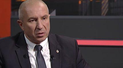 A.Lukašenka vėl stumdo šaškes: pakeitė apie karą prabilusį vidaus reikalų ministrą
