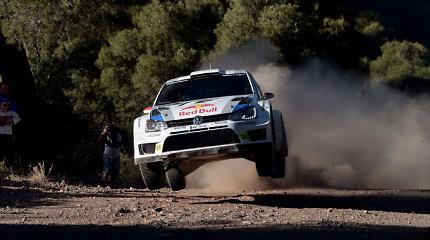 WRC varžybose Suomijoje triumfavo J.M.Latvala