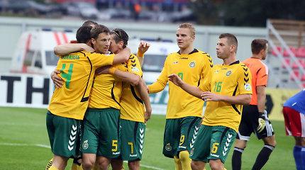 Lietuvos nacionalinė vyrų futbolo rinktinė FIFA klasifikacijoje prarado dar šešias pozicijas