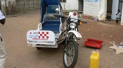 Kokia nauda iš greitosios medicinos pagalbos motociklo, jei net ligonio pavežti neįmanoma?