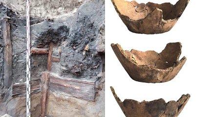 Merkys atvėrė Dzūkijos istorijos paslaptį: rastas tūkstantmetis šulinys