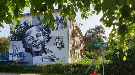 Kulautuvą papuošė gatvės meno piešinys, miestelyje atsirado nauji maršrutai, Babtų seniūnijoje – troleibuse kuriama virtuvė