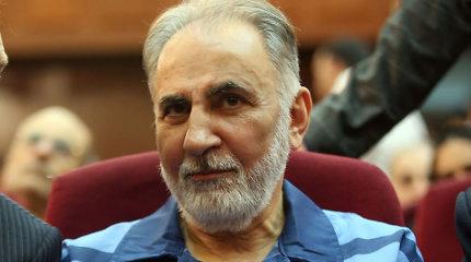 Irane už žmonos nužudymą nuteistas myriop buvęs Teherano meras