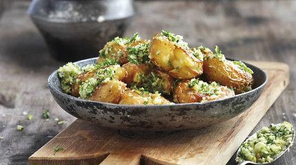 Genialus paprastumas: su parmezanu keptos bulvytės