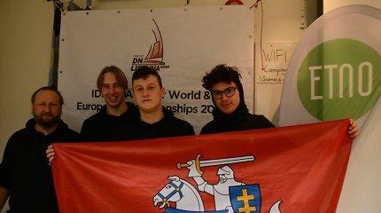 Pasaulio ledo jachtų čempionatas Švedijoje