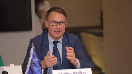 Lenką žurnalistą nustebino Lietuvos ambasadoriaus Azerbaidžane E.Naviko grubumas