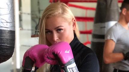 Viktorijos Perminaitės-Emanuel bokso treniruotė