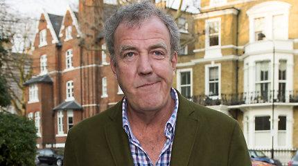 Britų televizijos žvaigždė Jeremy Clarksonas Ispanijoje pateko į ligoninę