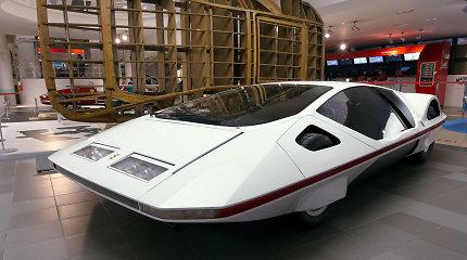 """""""Ferrari Modulo"""" – radikalus Pininfarina kūrinys, stebinantis ir po 50-ties metų"""