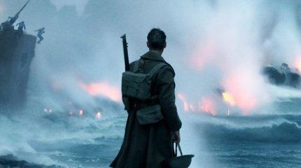 """Tikrais įvykiais paremta karinė drama """"Diunkerkas"""""""