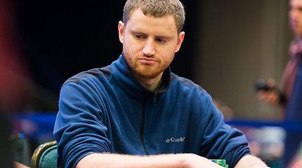 PCA likus 16 žaidėjų pirmauja Davidas Petersas