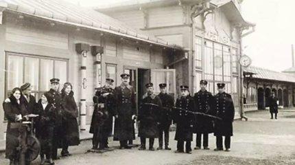 Išnykusi Palanga dvelkusi Kretingos geležinkelio stotis