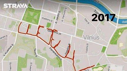 Mingailės bėgimų trasos