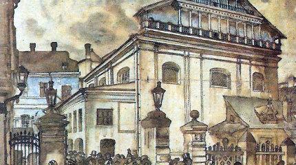 Vilniaus Didžiosios sinagogos įamžinimas: aiškėja, kas iškils vietoje nugriautos šventovės