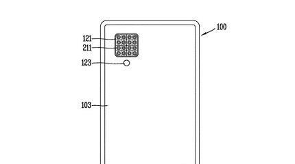 LG patentavo net 16 lęšių telefono kameros sistemą
