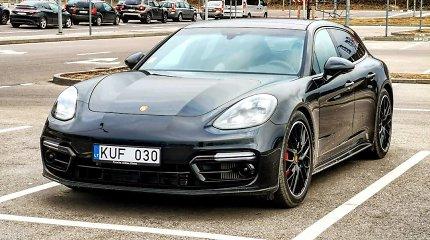 """""""Porsche Panamera GTS"""": ir """"Sport"""", ir """"Turismo"""", bet skirtas tik suaugusiems"""