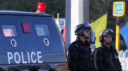 Kinijoje policija nukovė tris žmones pagrobusį sprogmenimis ginkluotą vyrą