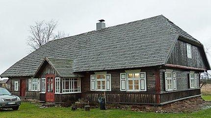 Prieš 180 metų statytas žemaičių namas Erlėnuose – gražiausias etnografinis pastatas Lietuvoje