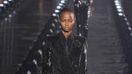 """Paryžiaus mados savaitė: """"Saint Laurent"""" 2020 m. pavasario ir vasaros kolekcija"""