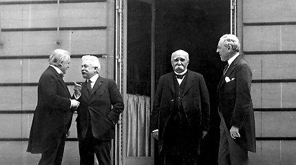 Prieš 100 metų įsigaliojo sutartis, užbaigusi Pirmąjį pasaulinį karą ir nutiesusi kelią į Antrąjį