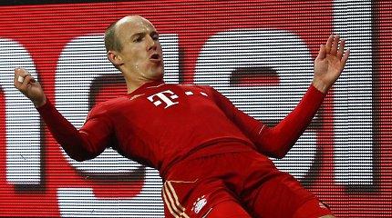 """Vokietijoje įtikinamas pergales šventė favoritai – """"Bayern"""" ir """"Borussia"""""""
