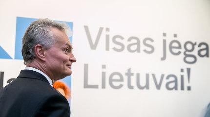 Prezidentui panorėjus VRK sprendimo nekeičia: būsimos patarėjos nepiniginė auka G.Nausėdai skola nepavirto