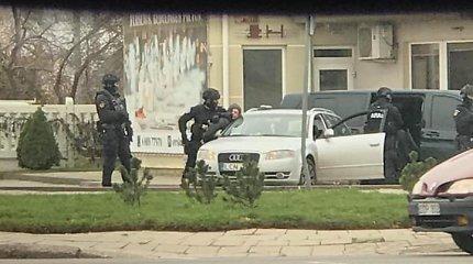 """Slapta tarptautinė operacija: """"Aro"""" pareigūnai vykdo sulaikymus Panevėžyje ir Vilniuje"""