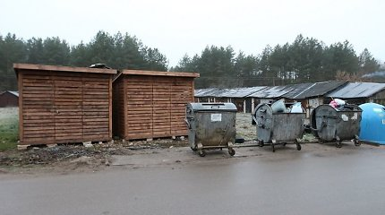 Taurų detektyvas: norėjo konteinerių – pastatė sandėliukus