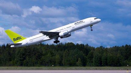 """""""airBaltic"""" pradės tiesioginius skrydžius iš Vilniaus į Kijevą"""