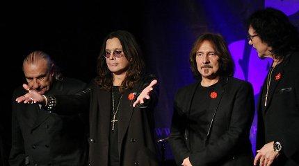 """Sunkiojo metalo pionieriai """"Black Sabbath"""" surengs paskutinį koncertą"""