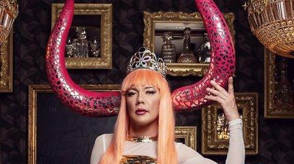 "Lolita Zero antrąją dainą ""Borderline Queen"" pristatys performanso apie laisvę metu"