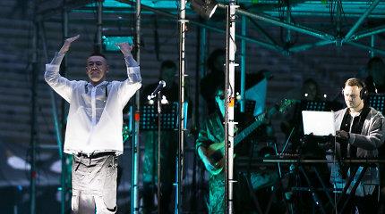 """""""Lilas ir Innomine"""" užbūrė Kalnų parko publiką: surengė išskirtinį koncertą su orkestru"""
