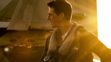 """Pasirodė filmo """"Top Gun"""" tęsinio anonsas: žiūrovams žadami įspūdingi specialieji efektai"""
