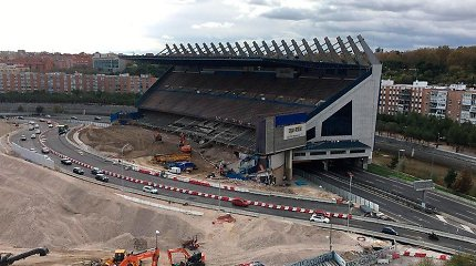 Štai kas liko iš stadiono