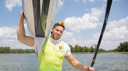 Baidarių ir kanojų irkluotojai pasaulio čempionate kovos dėl olimpinių kelialapių