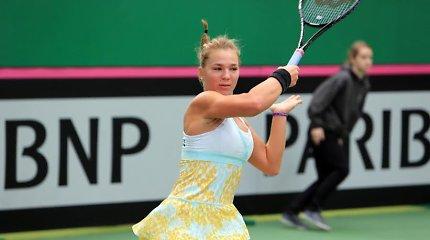 Akvilė Paražinskaitė sėkmingai startavo turnyre Belgijoje
