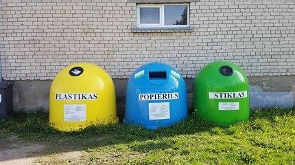 Kaimo realija: rūšiuotas atliekas išsivežk pats