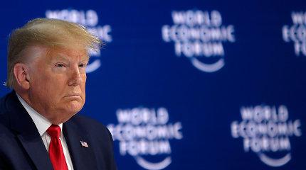 Pavojingai efektyvi Donaldo Trumpo propaganda pasitelkia ir COVID-19