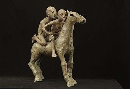 Rūtos Jusionytės skulptūra