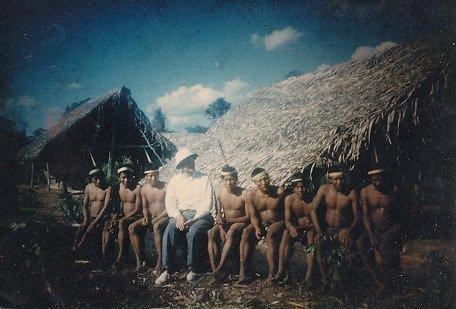 Nuotrauka iš filmo archyvo/Septintąjame dešimtmetyje A.F. Bendoraičio įkūrta indėnų kolonija Sagarana.