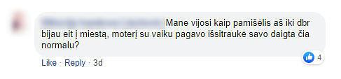 """""""Facebook"""" nuotr./Susirašinėjimas feisbuke dėl autisto paauglio Telšiuose"""