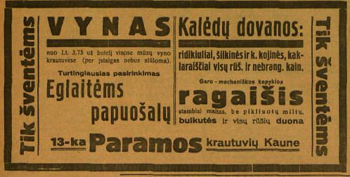 """Reklama """"Lietuvos žiniose"""""""