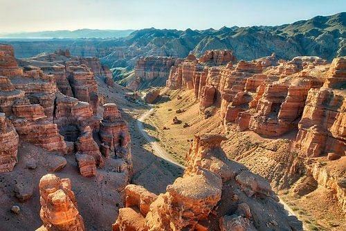 Shutterstock nuotr./Šaryno kanjonas, Kazachstanas