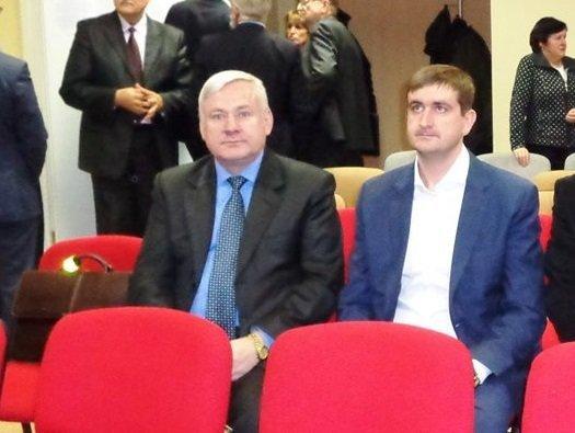 LSDP Kaišiadorių skyriaus nuotr./Česlovas Neviera (kairėje) ir Marius Muižinikas