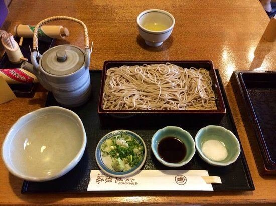 "Insidekyoto.com nuotr./Garsieji ""Honke Owariya"" restorano soba makaronai"