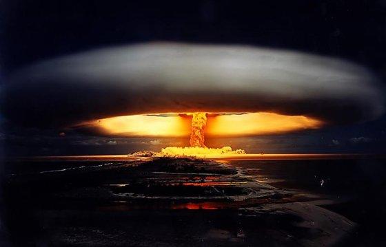 """Tsarbomba.org nuotr./""""Ivano"""" sprogimo akimirka."""