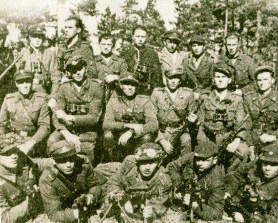 Ryčio E. nuotr./Partizanų būrys